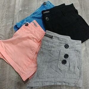 Bundle of Express Shorts 4 pairs